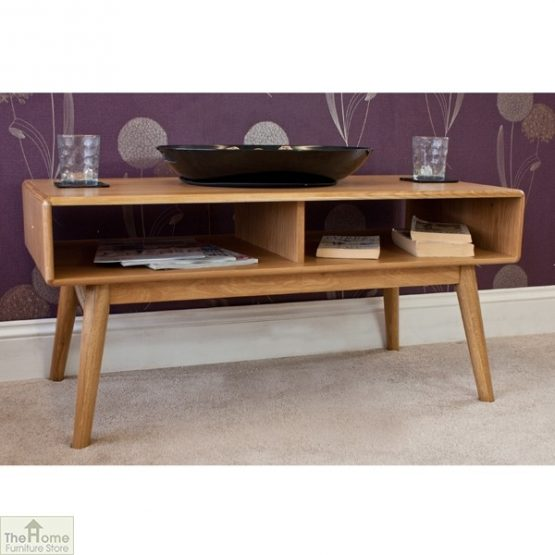 Casamoré Retro Style Oak Coffee Table_5