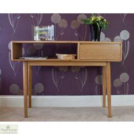 Casamoré Retro Style Oak Console Table_1