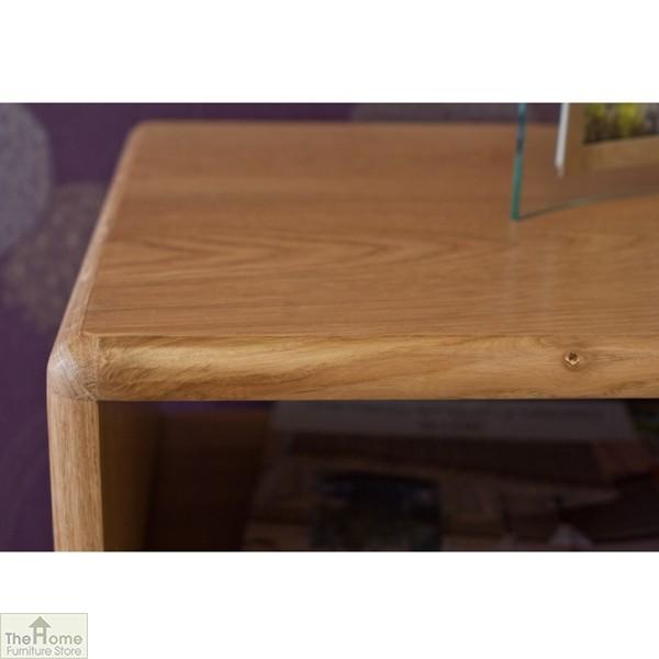 Casamoré Retro Style Oak Console Table_8