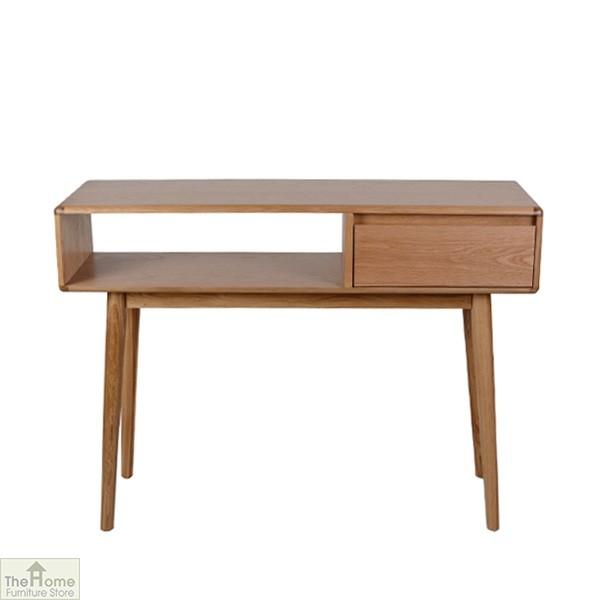 Casamoré Retro Style Oak Console Table