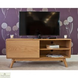 Casamoré Retro Style Oak TV Unit