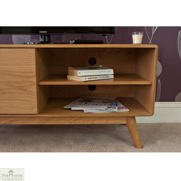 Casamor Retro Style Oak Tv Unit The Home Furniture Store