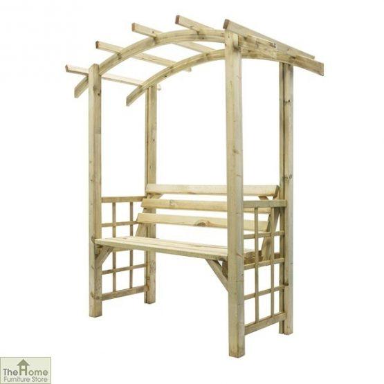 Covington Wooden Garden Arbour