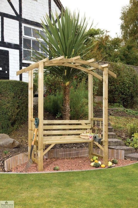 Covington Wooden Garden Arbour_1