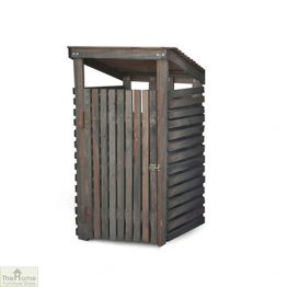 Single Wheelie Bin Wooden Storage