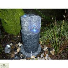 Two Tone Granite Water Fountain
