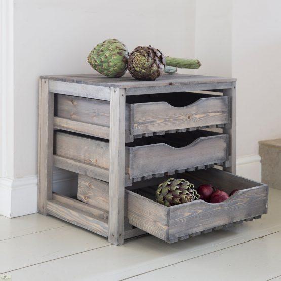 3 Drawer Wooden Vegetable Store_1