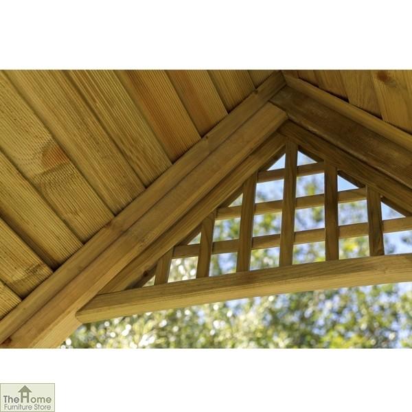Somercote Wooden Garden Arch_4