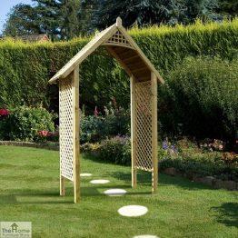 Somercote Wooden Garden Arch_1