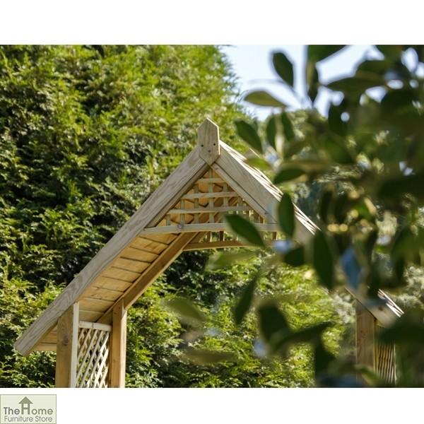 Somercote Wooden Garden Arch_3