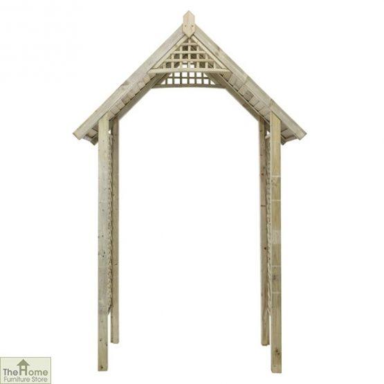 Somercote Wooden Garden Arch_5
