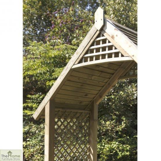 Somercote Wooden Garden Arch_2