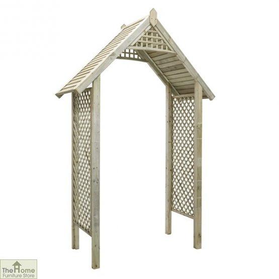 Somercote Wooden Garden Arch_6
