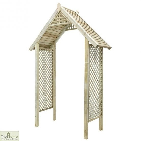 Somercote Wooden Garden Arch