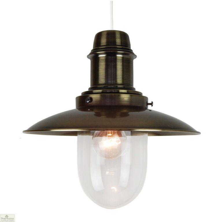 Metal Fisherman Lamp