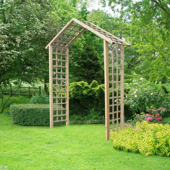 Atlas Wooden Garden Arch_2