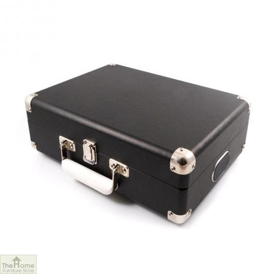Portable Vintage Case Record Player_5