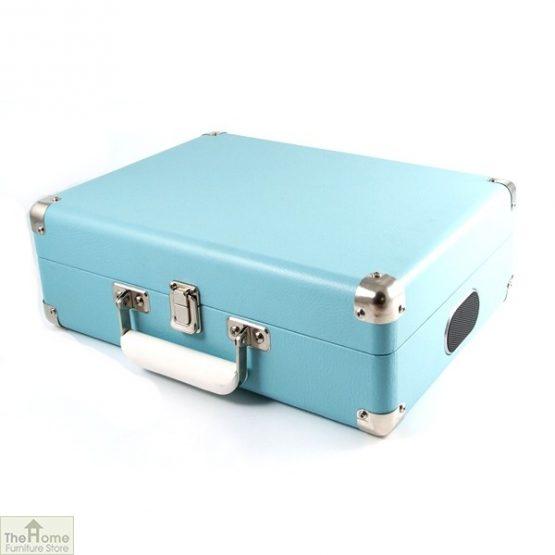 Portable Vintage Case Record Player_6
