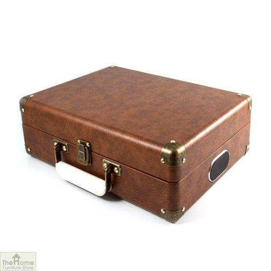 Portable Vintage Case Record Player_7