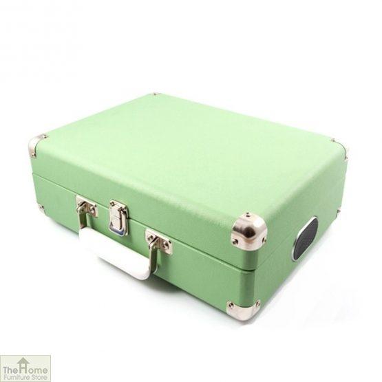 Portable Vintage Case Record Player_8