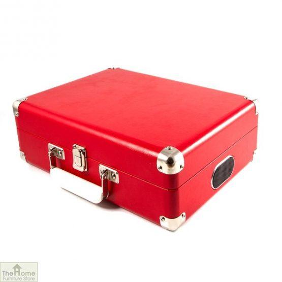 Portable Vintage Case Record Player_9