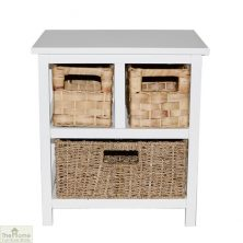 Camber Natural 3 Drawer Storage Unit