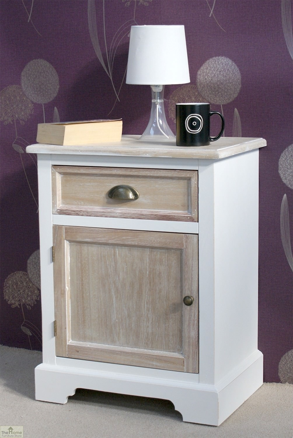 Cotswold Bedside Table Unit The Home Furniture Store