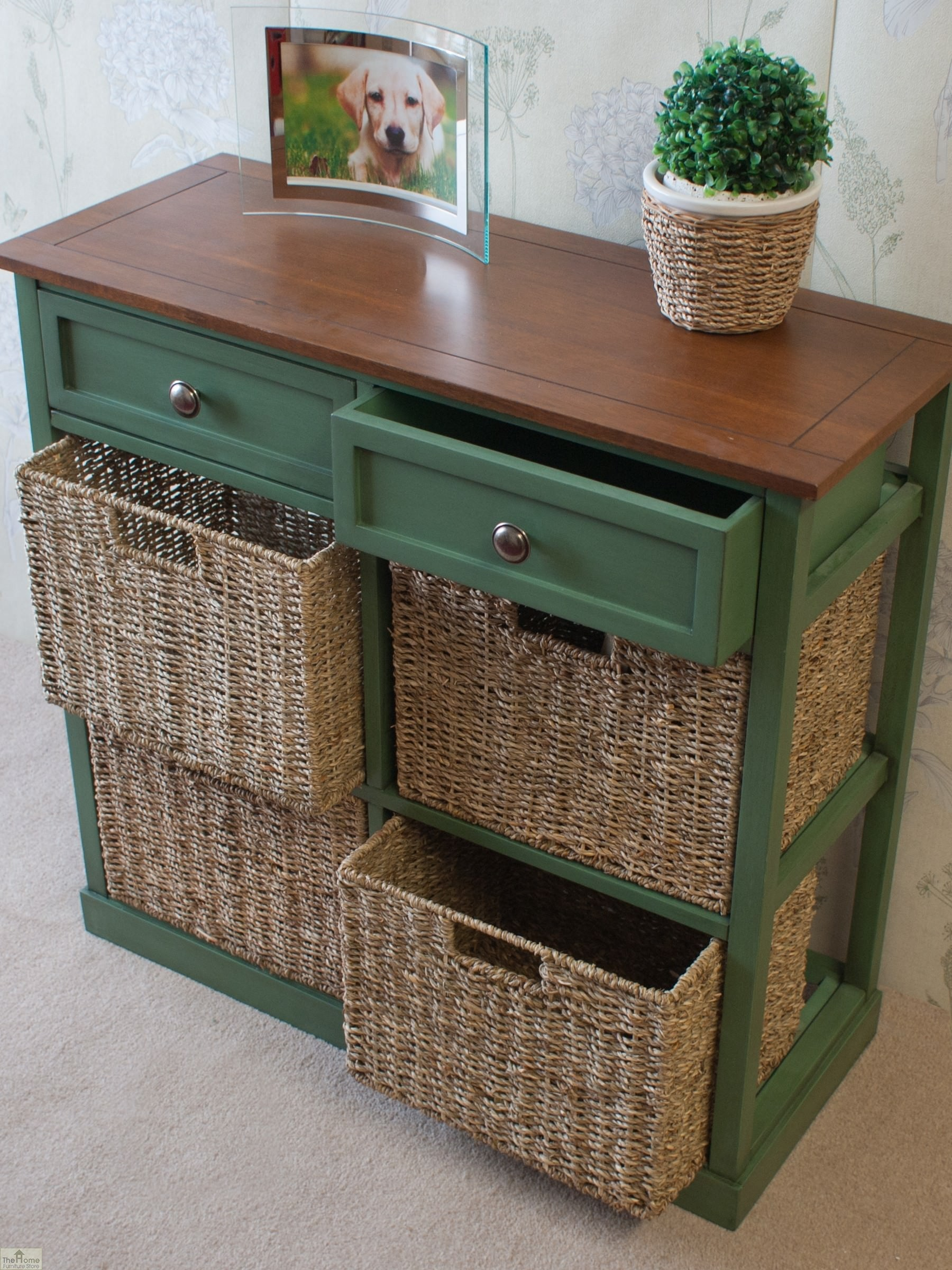 Country Cottage 6 Drawer Storage Chest The Home Furniture Store