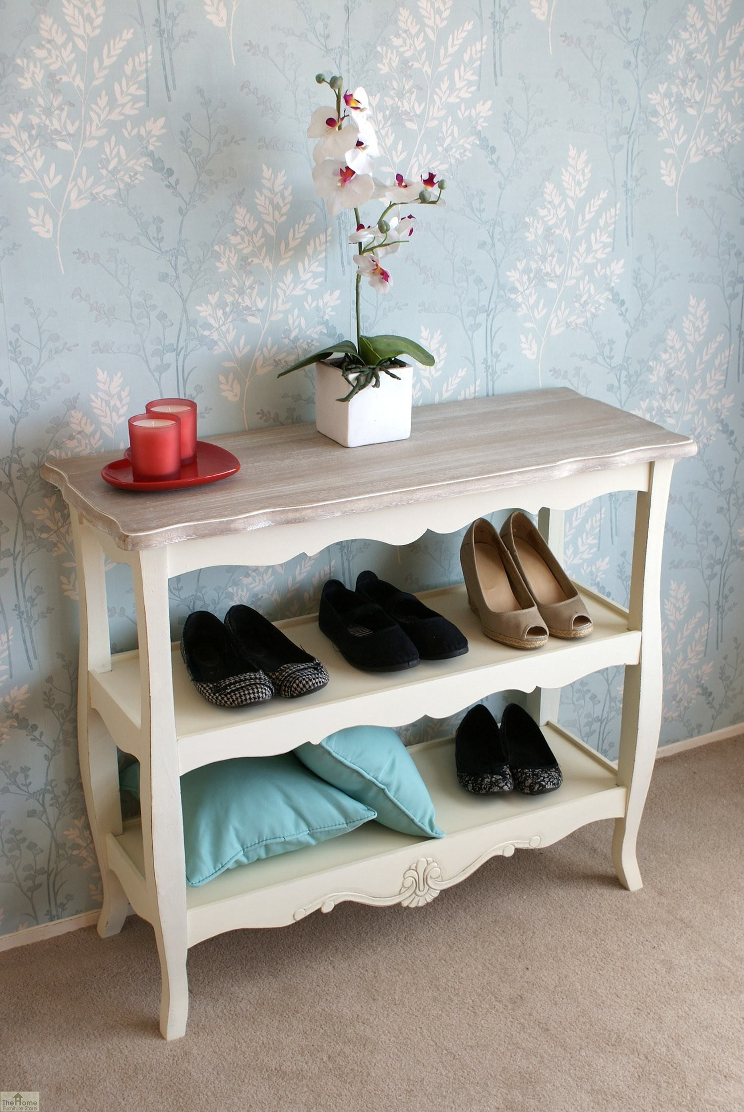 Devon 2 shelf console table the home furniture store Home furniture outlet uk