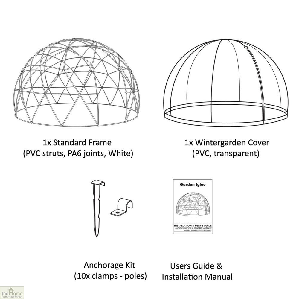 Garden Igloo Dome The Home Furniture Store HFS