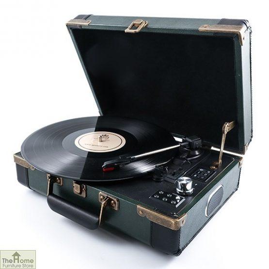 Portable Brief Case Record Player
