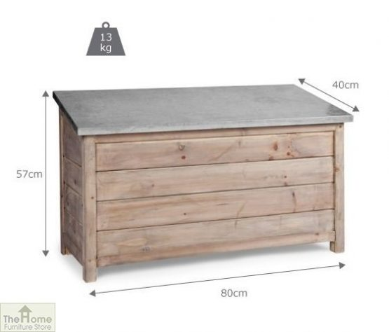 Outdoor Wooden Storage Box Unit_4