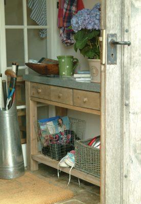 Zinc Top Potting Table_2
