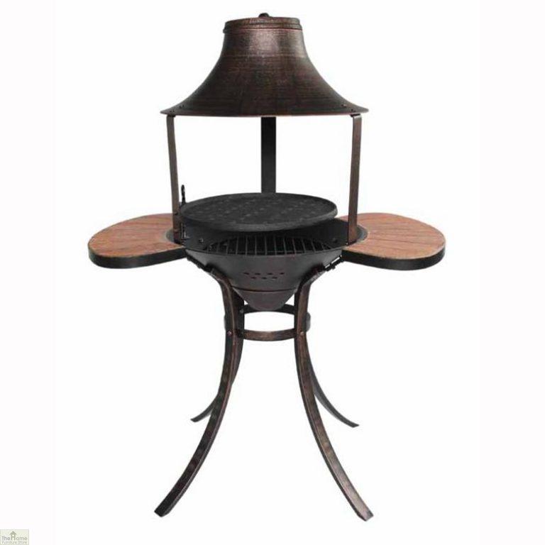 Medium Bronze Fire Bowl BBQ
