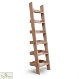 Wooden Ladder Bookshelf