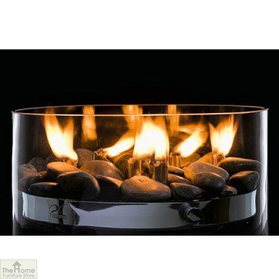 Round Glass Oil Lamp_1