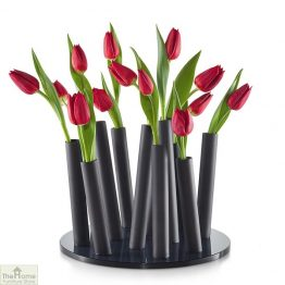 Black Bouquet Flower Vase