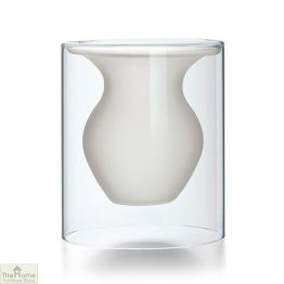 Contemporary White Vase