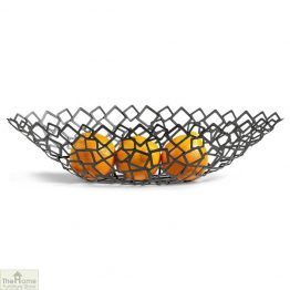 Crescent Geometric Fruit Bowl