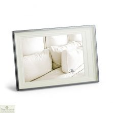 Section Silver Finish Photo Frame