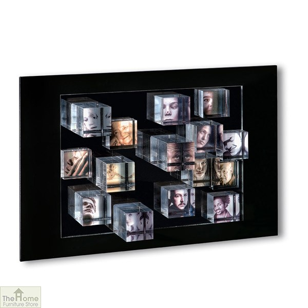 Cube Effect Photo Frame