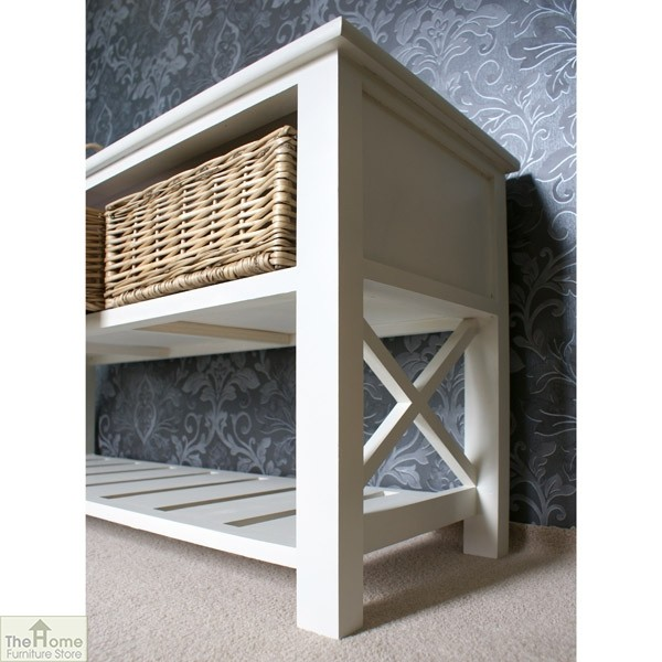 Gloucester 3 Basket Shoe Storage Bench_3