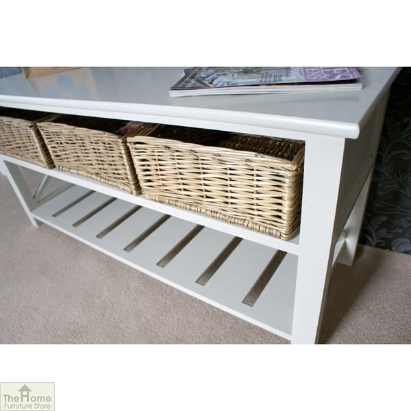 Gloucester 3 Basket Shoe Storage Bench_2