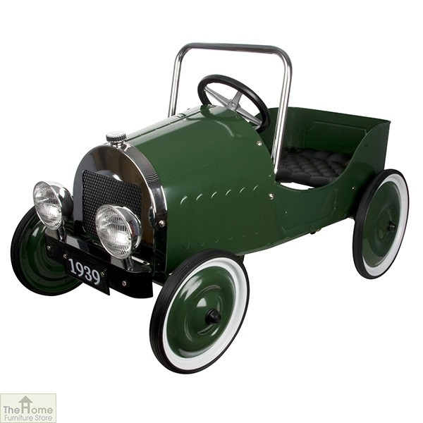 Classic Childrens Green Pedal Car