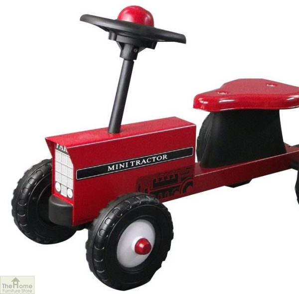 Childrens Ride On Red Tractor And Trailer_3