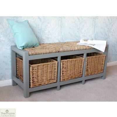 Gloucester 3 Basket Storage Bench_2