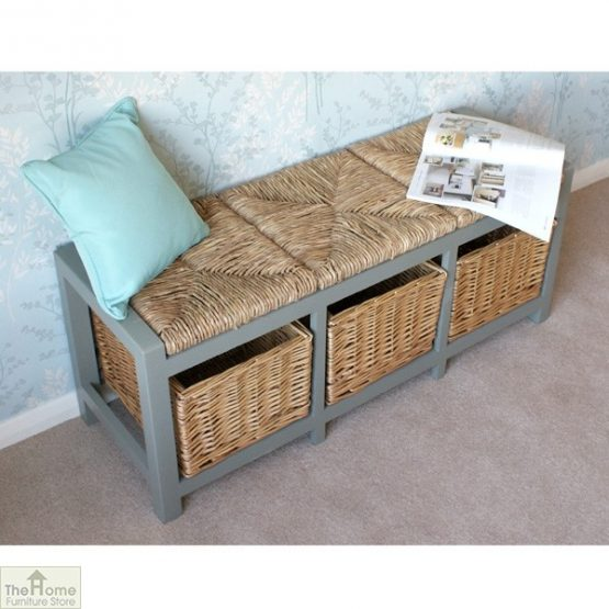 Gloucester 3 Basket Storage Bench_4