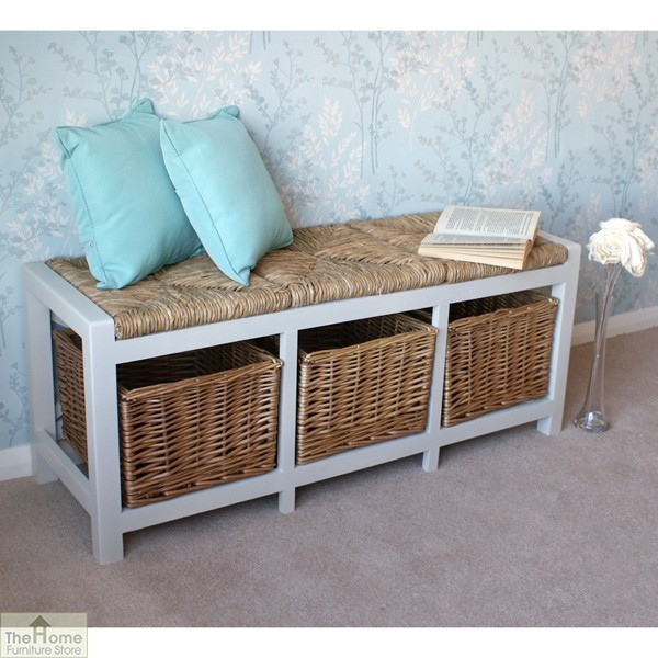 Gloucester 3 Basket Storage Bench_1