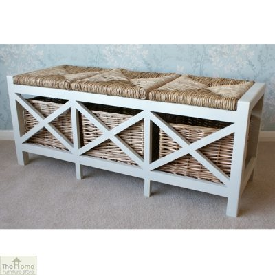 Gloucester 3 Basket Storage Bench_2