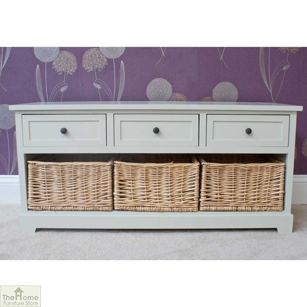 Gloucester 3 Drawer 3 Basket Storage Bench_1